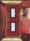 """2008/09 Hot Prospects #RMDR Derrick Rose Rookie Materials Letter """"B"""" Patch Auto"""