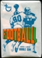 1972 Topps Football 1st or 2nd Series Wax Pack