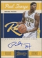 2010/11 Classics #164 Paul George Rookie Auto #068/449