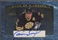 1997/98 SP Authentic #M3 Cam Neely Mark of a Legend Auto #285/560