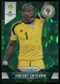 2014 Panini Prizm World Cup Prizms Green Crystal #150 Vincent Enyeama /25