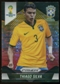 2014 Panini Prizm World Cup Prizms Yellow and Red Pulsar #108 Thiago Silva