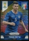 2014 Panini Prizm World Cup Prizms Yellow and Red Pulsar #126 Thiago Motta