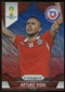 2014 Panini Prizm World Cup Prizms Blue and Red Wave #43 Arturo Vidal
