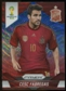 2014 Panini Prizm World Cup Prizms Blue and Red Wave #176 Cesc Fabregas
