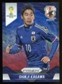 2014 Panini Prizm World Cup Prizms Blue and Red Wave #200 Shinji Kagawa