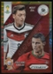 2014 Panini Prizm World Cup World Cup Matchups Prizms Yellow and Red Pulsar #15 Mesut Ozil/Cristiano Ronaldo