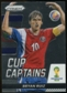 2014 Panini Prizm World Cup Cup Captains #3 Bryan Ruiz