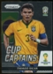 2014 Panini Prizm World Cup Cup Captains #28 Thiago Silva
