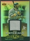2006 Upper Deck Epic #RE1 Reggie Jackson Materials Gold Jersey #19/25