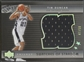 2004/05 Upper Deck Trilogy #TD Tim Duncan Swatches of Stardom Jersey #47/50