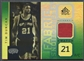 2005/06 Reflections #87 Tim Duncan Green Jersey #18/25