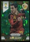 2014 Panini Prizm World Cup Prizms Green Crystal #21 Eden Hazard /25