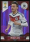 2014 Panini Prizm World Cup Prizms Purple #88 Mesut Ozil /99