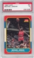 1986/87 Fleer Basketball #57 Michael Jordan Rookie PSA 3 (VG) *5390