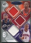 2009/10 SP Game Used #6SSJOPRD Kevin Durant Roy Paul Lebron James Okafor Stoudemire Jersey #39/99