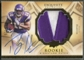 2009 Exquisite Collection #162 Percy Harvin Rookie Patch Auto #002/225