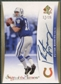 2007 SP Authentic #SOTTPM Peyton Manning Gold Sign of the Times Auto #17/25