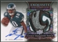 2008 Exquisite Collection #154 DeSean Jackson Silver Holofoil Rookie Patch Auto #37/75