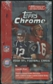 2002 Topps Chrome Football Retail Box