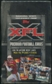 2001 Topps XFL Football Retail Box