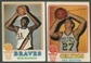 1973/74 Topps Basketball Partial Set (VG-EX)