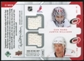 2008/09 Upper Deck MVP Two on Two Jerseys #J2WBSW Eric Staal/Rod Brind'Amour/Cam Ward/Justin Williams