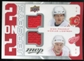 2008/09 Upper Deck MVP Two on Two Jerseys #J2LNCP Dion Phaneuf/Nicklas Lidstrom/Scott Niedermayer/Zdeno Chara