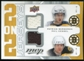 2008/09 Upper Deck MVP Two on Two Jerseys #J2SCBK Patrice Bergeron/Phil Kessel/Marc Savard/Zdeno Chara