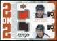 2008/09 Upper Deck MVP Two on Two Jerseys #J2BGRC Simon Gagne/Mike Richards/Jeff Carter/Martin Biron