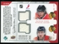 2008/09 Upper Deck MVP Two on Two Jerseys #J2DZSK Henrik Zetterberg/Pavel Datsyuk/Patrick Kane/Patrick Sharp