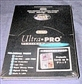 Ultra Pro Platinum  4 Pocket  Pages 3 1/2 x 5 Postcard ( 100 count box )