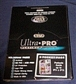 Ultra Pro Platinum  8 Pocket Pages 2 3/4 x3 1/2 ( 100 count box )