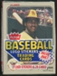 1983 Fleer Baseball Cello Pack With Tony Gwynn On Top