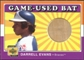 2001 Upper Deck Decade 1970's Game Bat #BDAE Darrell Evans