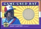 2001 Upper Deck Decade 1970's Game Bat #BGC Gary Carter