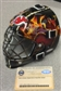 Martin Brodeur New Jersey Devils Signed Auto Flame Mini Helmet (Steiner)