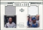2001 Upper Deck Pros and Prospects Then and Now Game Jersey #TNGS Gary Sheffield