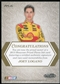 2013 Press Pass Showcase Prized Pieces Ink Melting #PPIJL Joey Logano 1/1