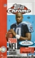 2006 Topps Chrome Football Hobby Box