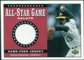 2002 Upper Deck All-Star Salute Game Jersey #SJDE Dennis Eckersley