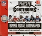 2006 Playoff Contenders Football Hobby Box