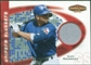 2002 Upper Deck Ballpark Idols Uniform Sluggers Jerseys #AR Alex Rodriguez