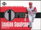 2003 Upper Deck Leading Swatches #AD Adam Dunn RUN Jersey