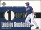 2003 Upper Deck Leading Swatches Jersey #AJ Andruw Jones HR