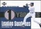 2003 Upper Deck Leading Swatches Jersey #BW1 Bernie Williams 339 AVG