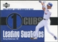 2003 Upper Deck Leading Swatches Jersey #CP Corey Patterson HR
