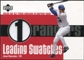 2003 Upper Deck Leading Swatches Jersey #GO Juan Gonzalez RBI