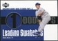 2003 Upper Deck Leading Swatches Jersey #HN Hideo Nomo WIN