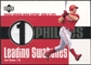 2003 Upper Deck Leading Swatches Jersey #JT Jim Thome HR